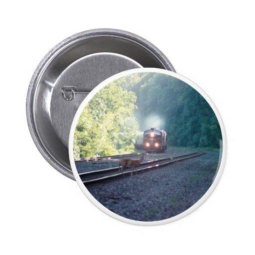 Conrail Office Car Train-OCS 8/22/97 Button