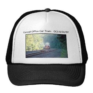 Conrail Office Car Train - OCS 8/22/97 Cap