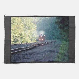 Conrail Office Car Train-OCS 8/22/97 Kitchen Towel