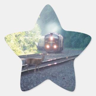 Conrail Office Car Train-OCS 8/22/97 Star Sticker