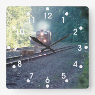 Conrail Office Car Train - OCS 8/22/97 Wall Clock