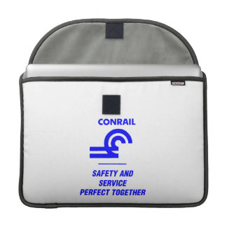 Conrail Safety and Service Perfect Together MacBook Pro Sleeve