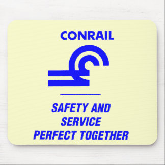 Conrail Safety and Service Perfect Together Mouse Pad