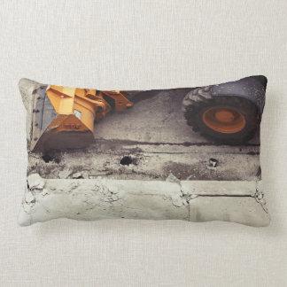 cons-Truck-tion Lumbar Pillow