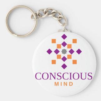 conscious mind key ring