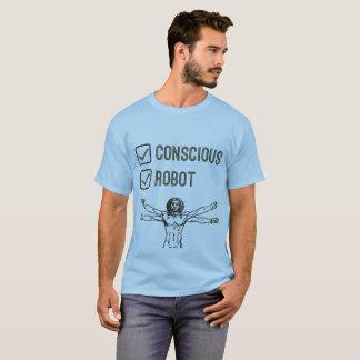 Conscious & Robot Tickbox - T-shirt