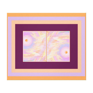 Consciousness Abstract Art Duo TWIST Canvas Print