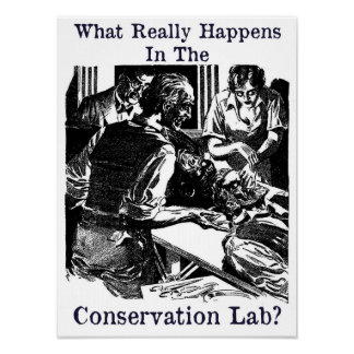 Conservation Lab Pulp Fiction Poster