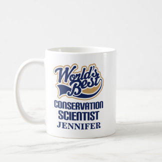 Conservation Scientist Personalized Mug Gift