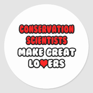 Conservation Scientists Make Great Lovers Sticker