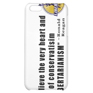 Conservatism Quote by President Ronald Reagan iPhone 5C Cover