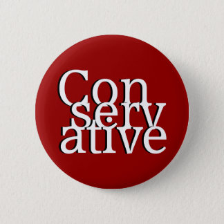 Conservative 6 Cm Round Badge