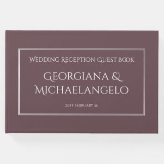 Conservative and Personalized Marriage Guestbook
