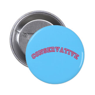 Conservative Logo 6 Cm Round Badge