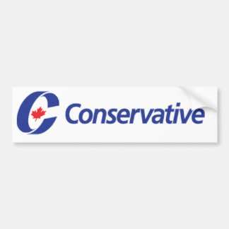 Conservative Party Logo Bumper Sticker