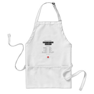 Conservative party matching game apron