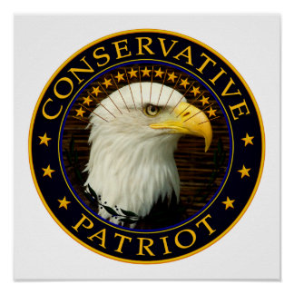 Conservative Patriot 2 Poster