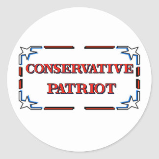 Conservative Patriot Stickers