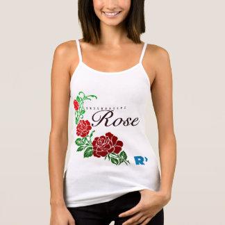 Conservative Rose White Singlet