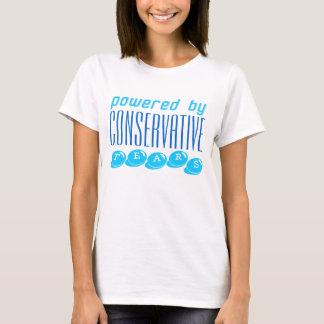 CONSERVATIVE TEARS t-shirt wht