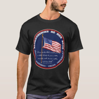 Conservative to the Core - Liberty Ben Franklin T-Shirt