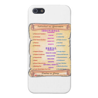 Conservative vs. Liberal 2 iPhone 5 Covers