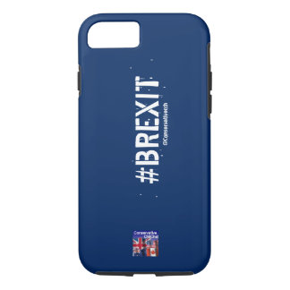 ConservativeChitChat #Brexit Phone Case: iPhone 7 Case