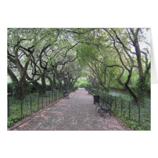 Conservatory Garden Central Park NYC Photography Card