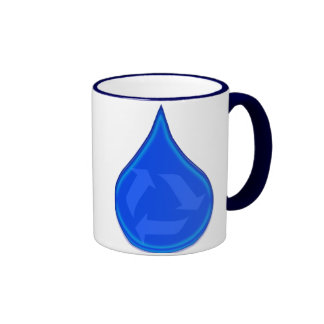 Conserve and Save Water Ringer Mug