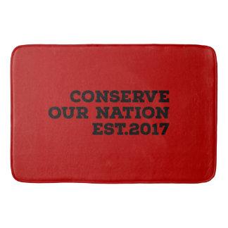 Conserve Our Nation Bath Mat