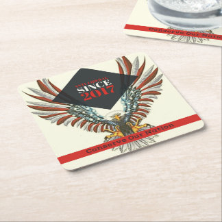 Conserve Our Nation Coasters (Eagle)