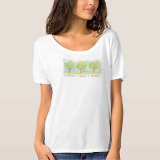 Conserve, reuse, recycle. tee shirt
