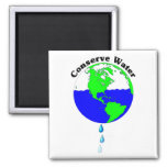 Conserve Water Refrigerator Magnet