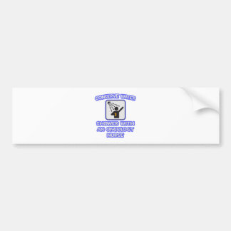 Conserve Water .. Shower With Oncology Nurse Bumper Sticker