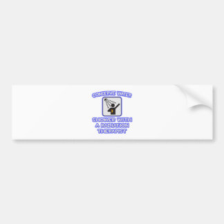 Conserve Water .. Shower With Radiation Therapist Car Bumper Sticker