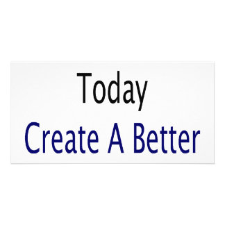 Conserve Water Today Create A Better Future Photo Card