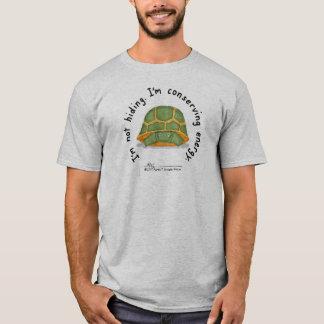 Conserving Energy Men's Gray T (Design on Front) T-Shirt