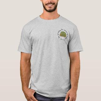 Conserving Energy Men's Gray T (Design on Pocket) T-Shirt