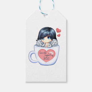 Consider Supporting Artists Gift Tags