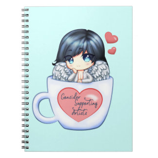 Consider Supporting Artists Notebook