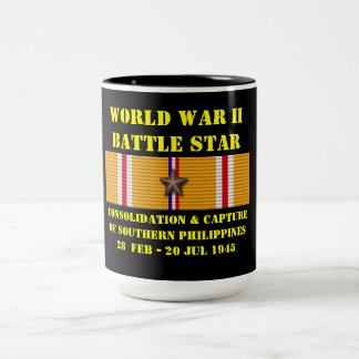 Consolidation & Capture Of Southern Philippines Two-Tone Mug
