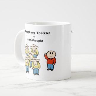 Conspiracy Theorist = non-sheeple Jumbo Mug