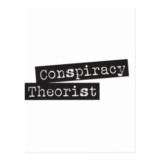 Conspiracy THEORIST Post Cards