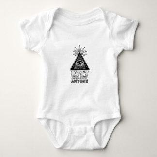Conspiracy theory baby bodysuit