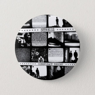 Conspiracy Theory LP 6 Cm Round Badge