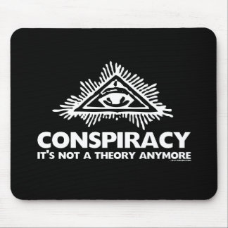 CONSPIRACY THEORY MOUSE PAD