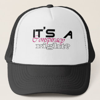 Conspiracy Theory Trucker Hat