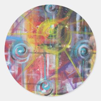 Constant Velocity 4 Round Sticker