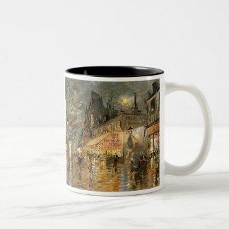 Constantin Korovin: Cafe La Marine, Paris Two-Tone Coffee Mug