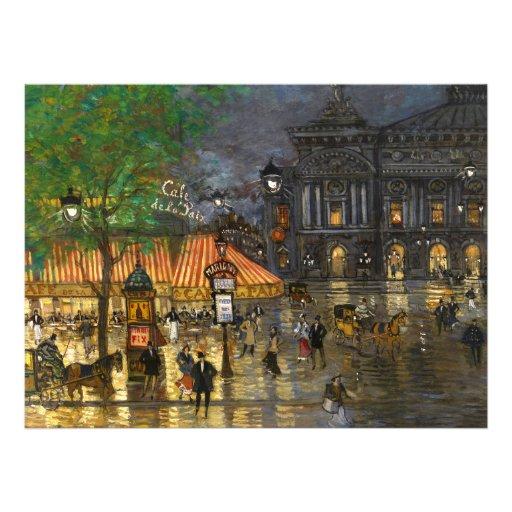 Constantin Korovin: Grand Opera, Paris Invites